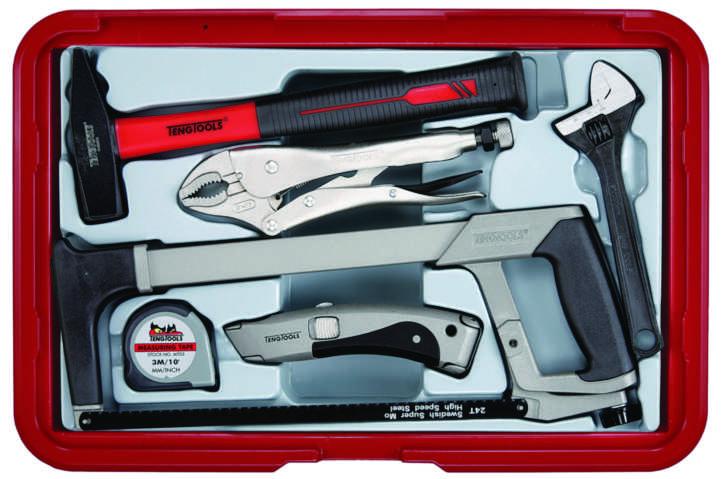 Image of   Værktøjssæt i ps kasse scps01e
