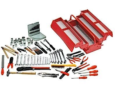 Værktøjskasse Tengtools med indhold