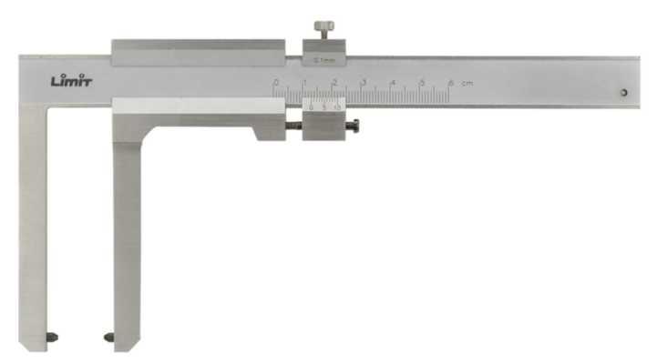 Skydelære f.bromsskivor 0-60mm