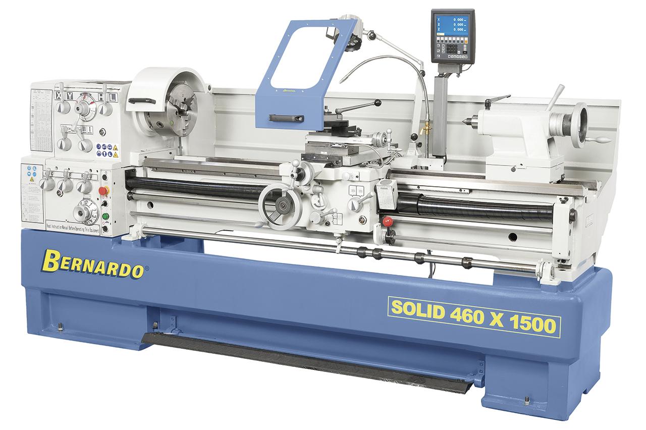 Image of   Solid 460 x 1500 produktionsdrejebænk
