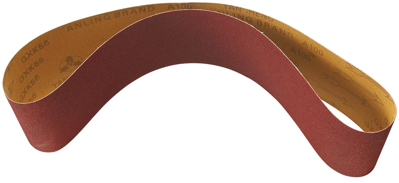 Image of   Slibebånd 1220 x 150 - grit 80 (5 stk.)
