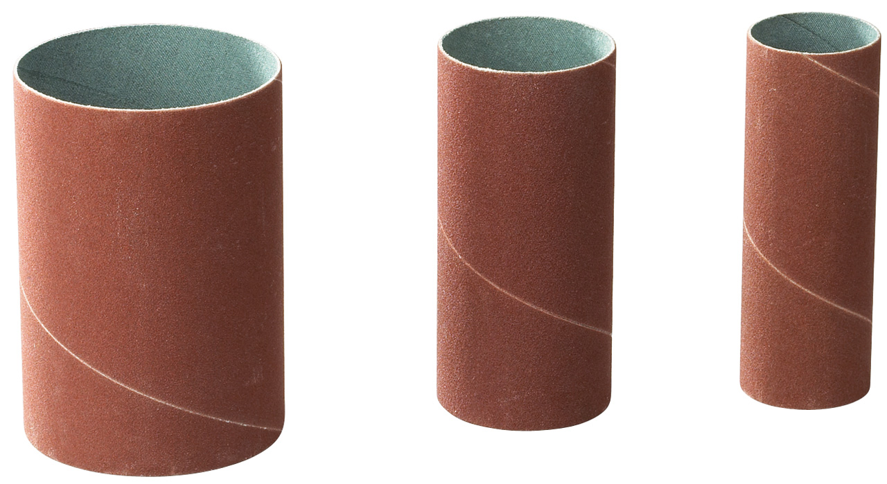 Image of   Sanding sleeve set diam. 19 / 38 / 50 mm - grit 100 (each 5 pcs.)