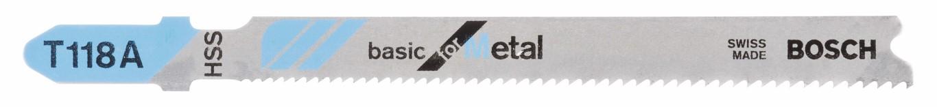 Stiksavklinge T 118 A Basic for Metal