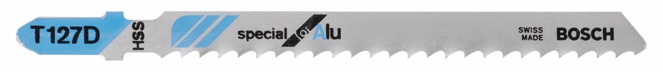 Stiksavklinge T 127 D Special for Alu