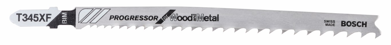 Stiksavsklinge T 345 XF Progressor for Wood and Metal