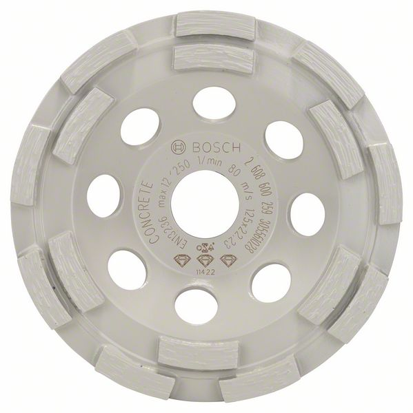 Image of   Diamantkopskive Best for Concrete 125 x 22,23 x 4,5 mm