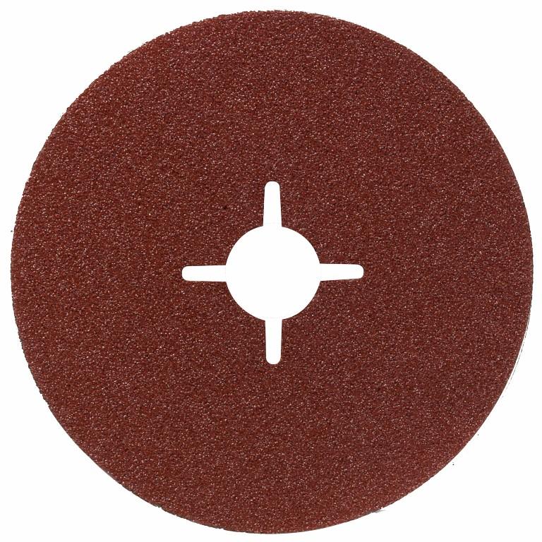 Image of   Fiberslibeskive R444, Expert til metal 125 mm, 22,23 mm, 24