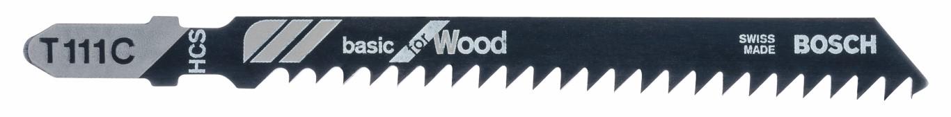 Image of   Stiksavklinge T 111 C Basic for Wood