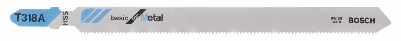 Image of   Stiksavklinge T 318 A Basic for Metal