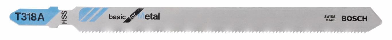 Stiksavklinge T 318 A Basic for Metal