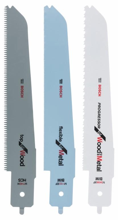 Image of   3 dele stiksavklingesæt til Bosch multisave PFZ 500 E M 1142 H; M 3456 XF; M 1122 EF