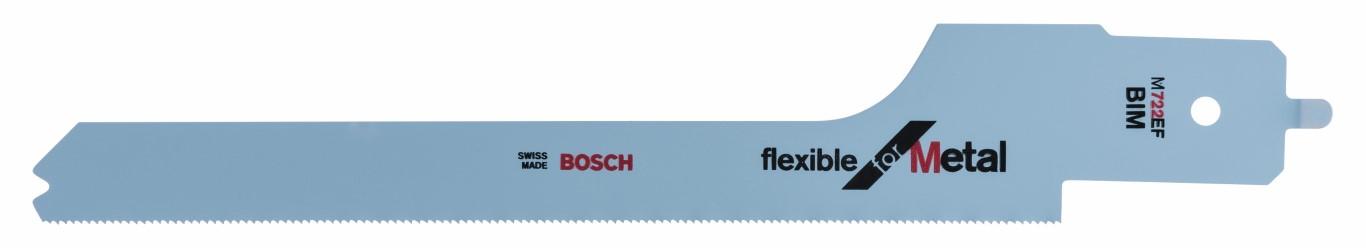 Image of   Bajonetsavklinge M 722 EF til Bosch multisave PFZ 500 E Flexible for Metal