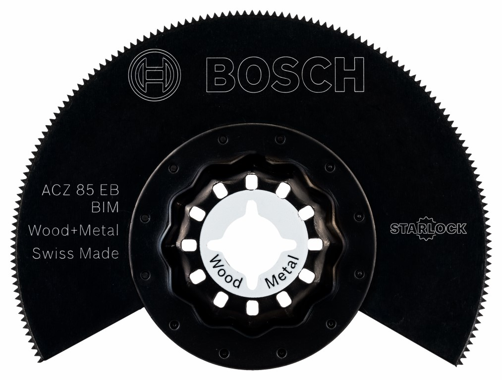 Image of   BIM-segmentsavklinge ACZ 85 EB Wood and Metal 85 mm