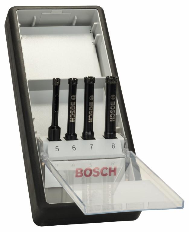 Image of   Robust Line diamantvådborsæt med 4 dele 5; 6; 7; 8 mm