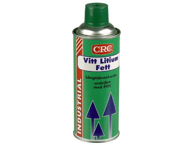 Lithiumfedt CRC White Lithium Grease + PTFE
