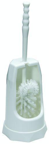 Toiletbørste med holder hvid 505518