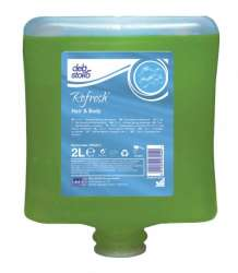 Image of   Refresh Hair og Body showergel og shampo 2l patron