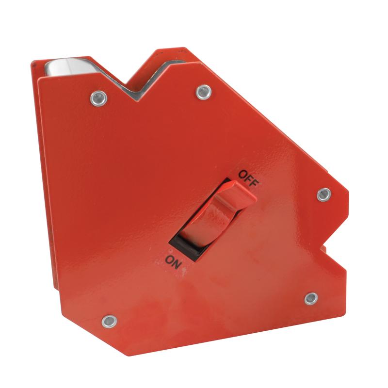 Svejsemagnet med on/off funktion, 45°/90°/135° vinkler