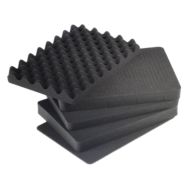Skum polstring til outdoor kuffert (430x300x300 mm) Volume: 37,9 L Passer til model 5500
