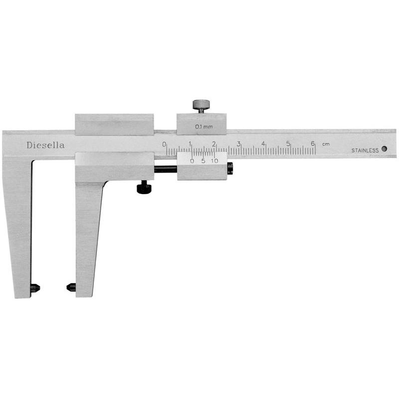 Image of   0-60 mm x 0,1 Til bremseskiver, kæbelgd. 52 Skydelære