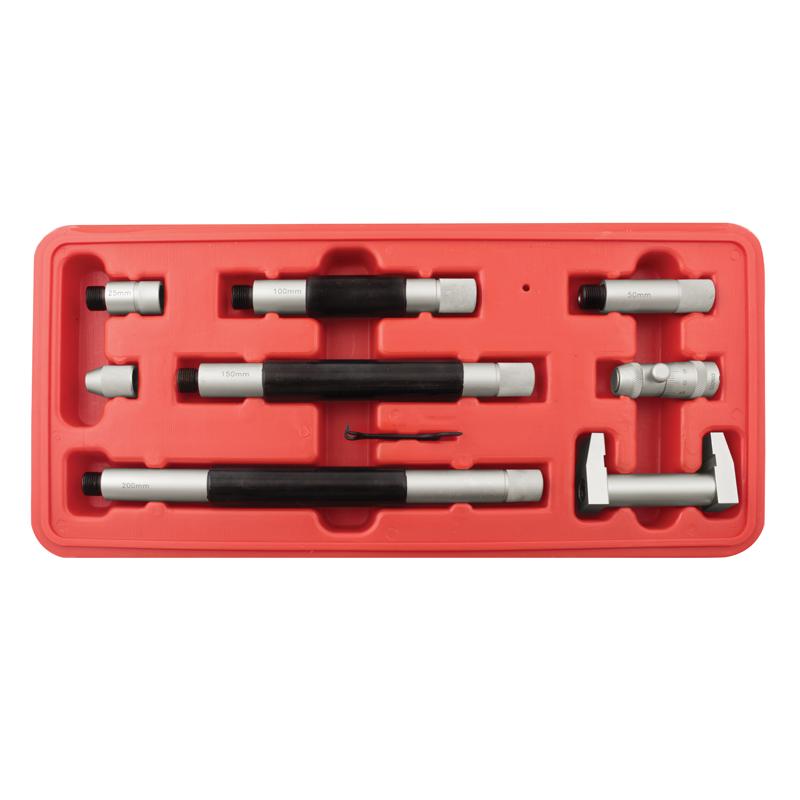 Mikrometer til indv- måling 50-250 mm x 0,01 mm