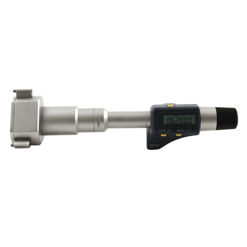Indv. 3pt mikrometer digital 62 - 75 mm x 0,001 mm