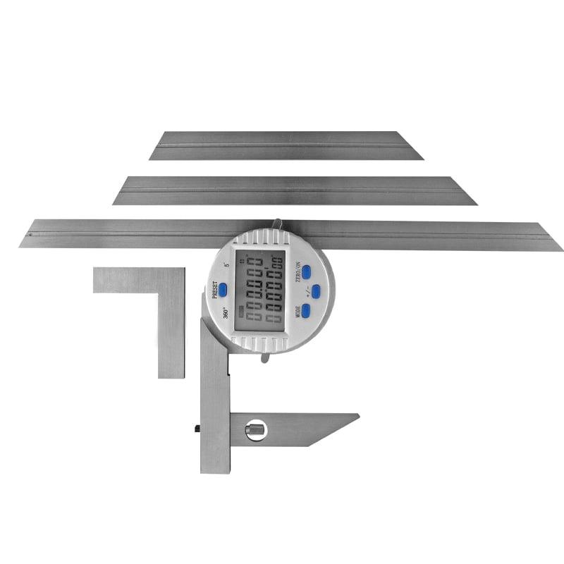 Digital vinkelmåler universal 0-360° x 0,001°