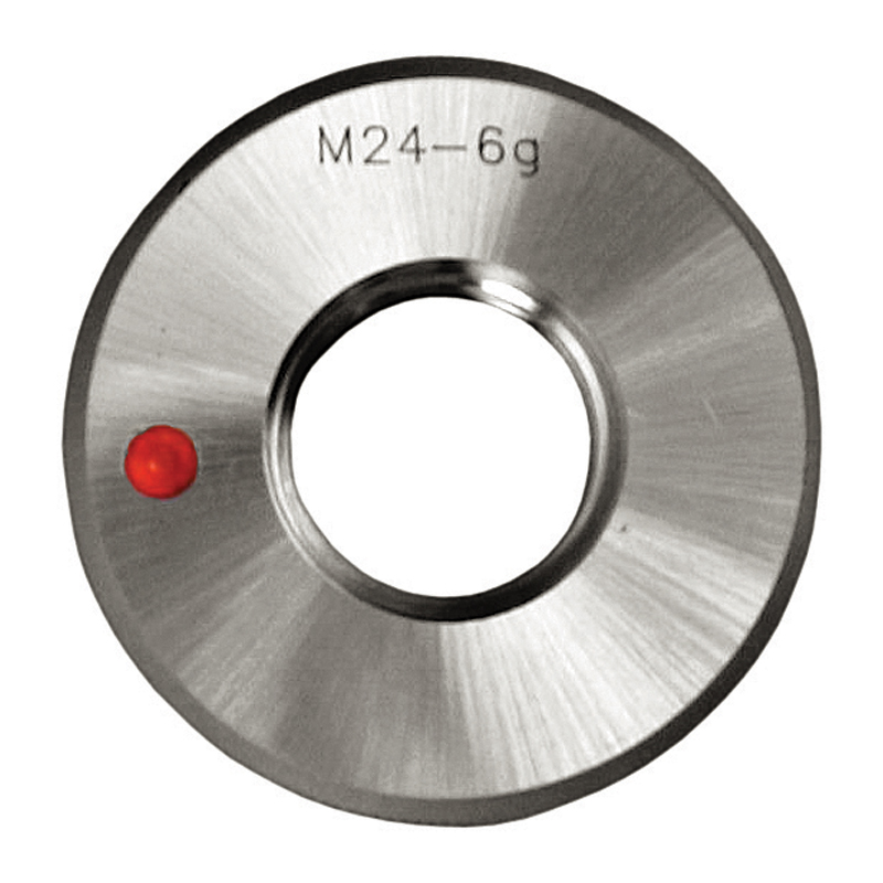 Gevindprøvering M56x1,5 Metrisk fingevind. Fejl