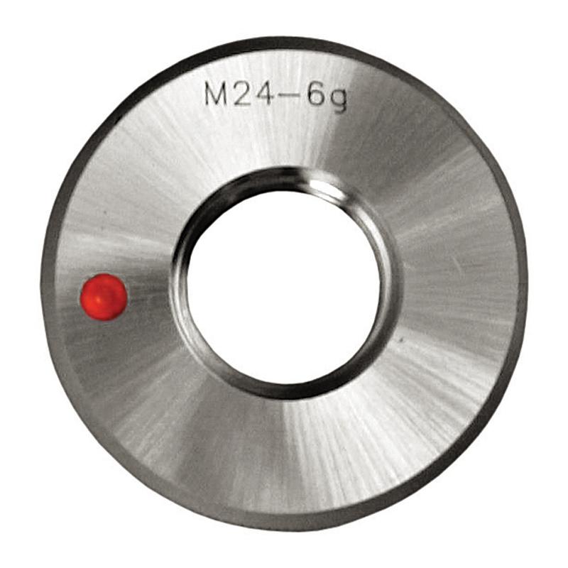 Gevindprøvering M72x6,0 Metrisk grovgevind. Fejl