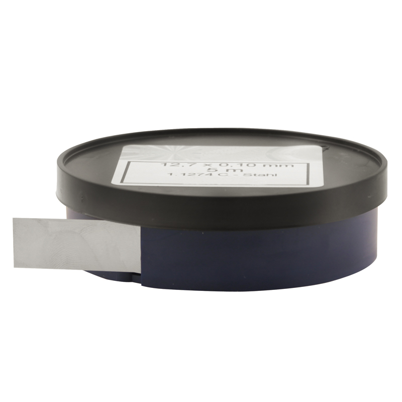 Søgeblad 0,30 mm i rulle INOX 5 mtr x 12,7 mm