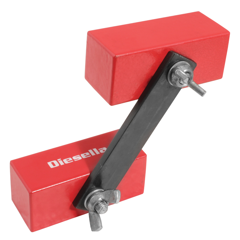 Image of   60x25x25 mm Magnet blok m/2 dobb. magneter