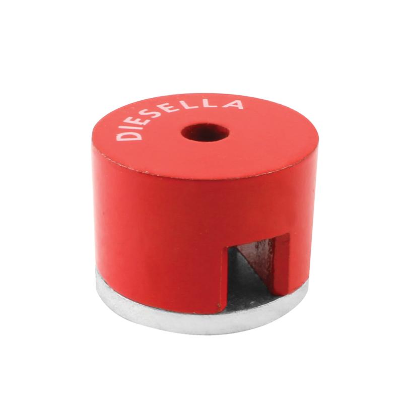 Knapmagnet Ø31,8 (48N) huldiameter Ø7,1