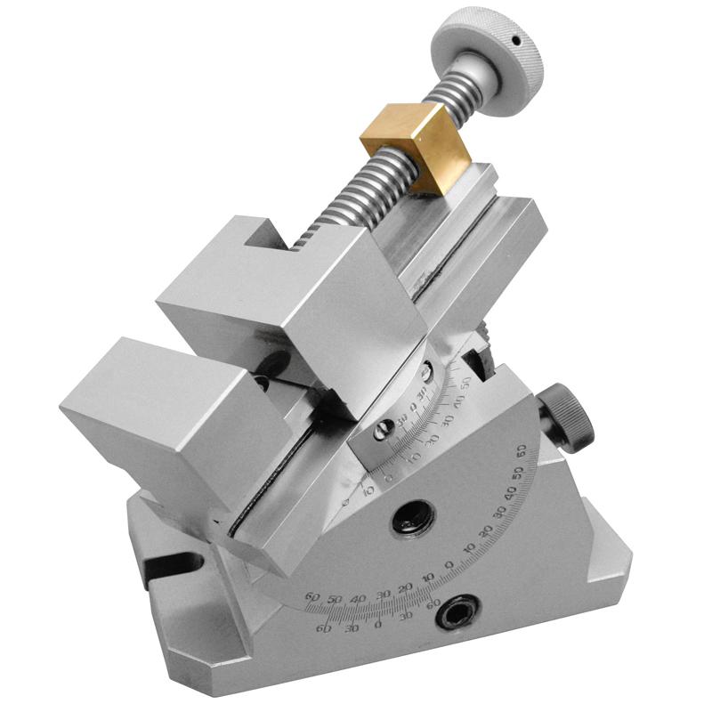 Image of   Kipbar slibe skruestik 70 mm med drejeskive. Åbning 80 mm