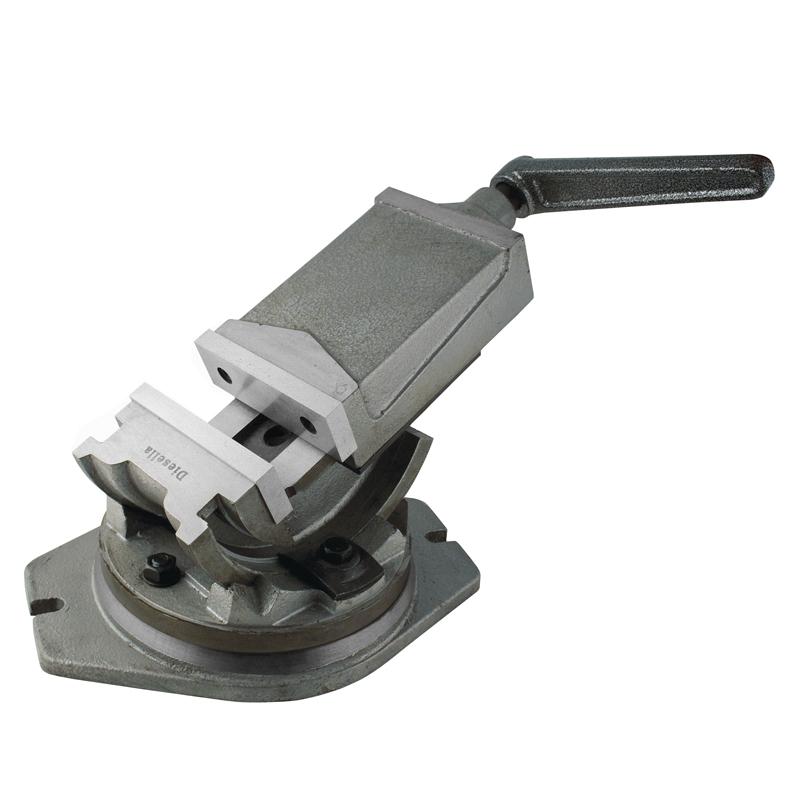 Image of   Kipbar maskinskruestik 125 mm med drejeskive. Åbning 100 mm