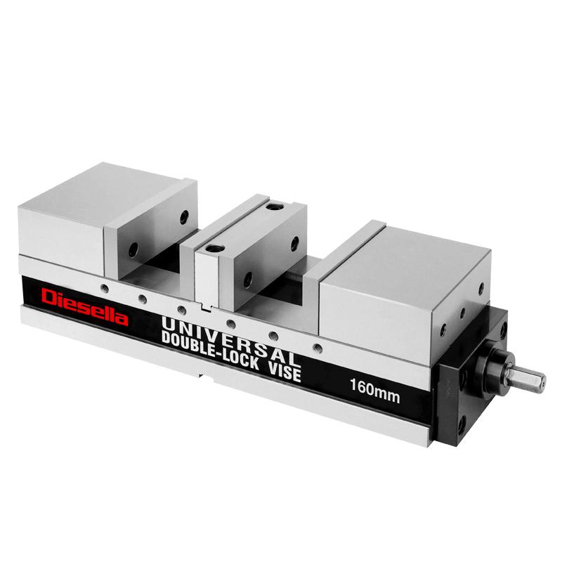Maskinskruestik m/centerspænd. 160x60x100+80x500 mm
