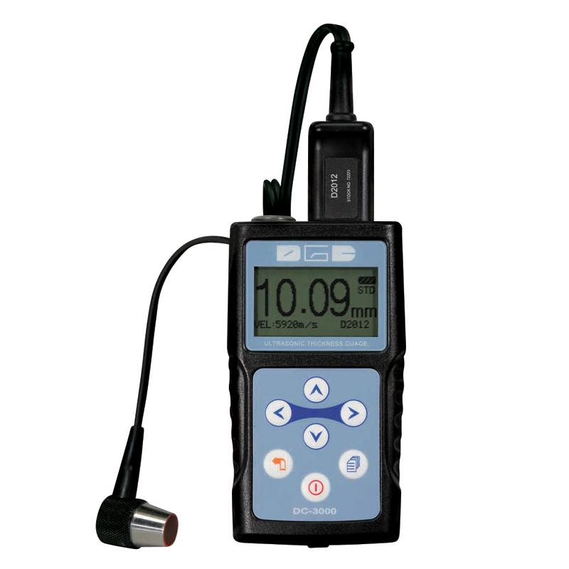 Ultrasonisk m/3 målemetoder T-E, E-E, Scan Tykkelsesmåler