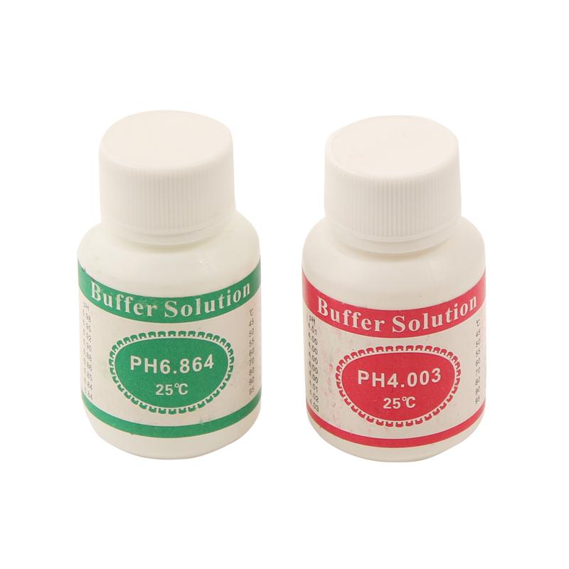 Image of   Kalibreringsvæske til PH meter (pH 4,01 + pH 6,86) i sæt