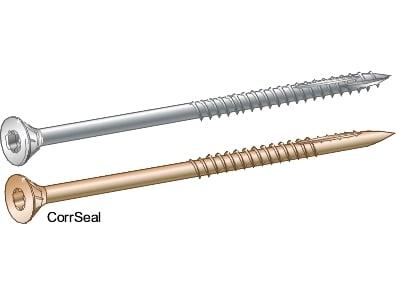 Træskrue med undersænket hoved 5,0x100 Essve CorrSeal -100 stk