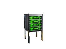 Image of   Bilreol til 4 ESSBOX kufferter