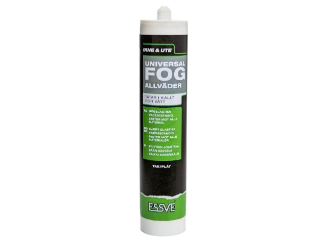 Universalfuge og tætningsmiddel Essve sort - 300 ml