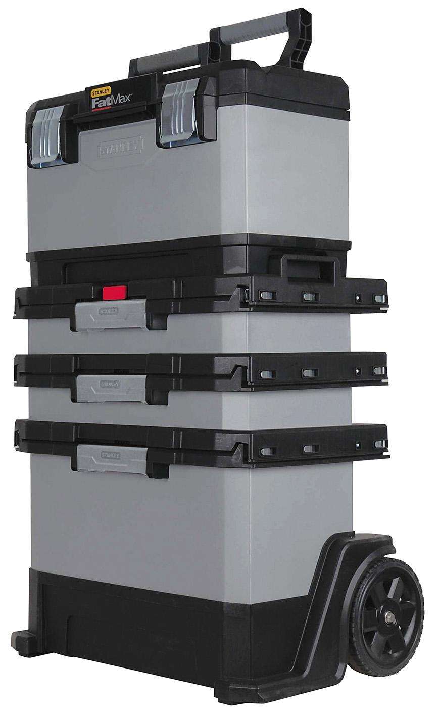 Image of   Værktøjskasse mobil 1-95-622 med løse kasser