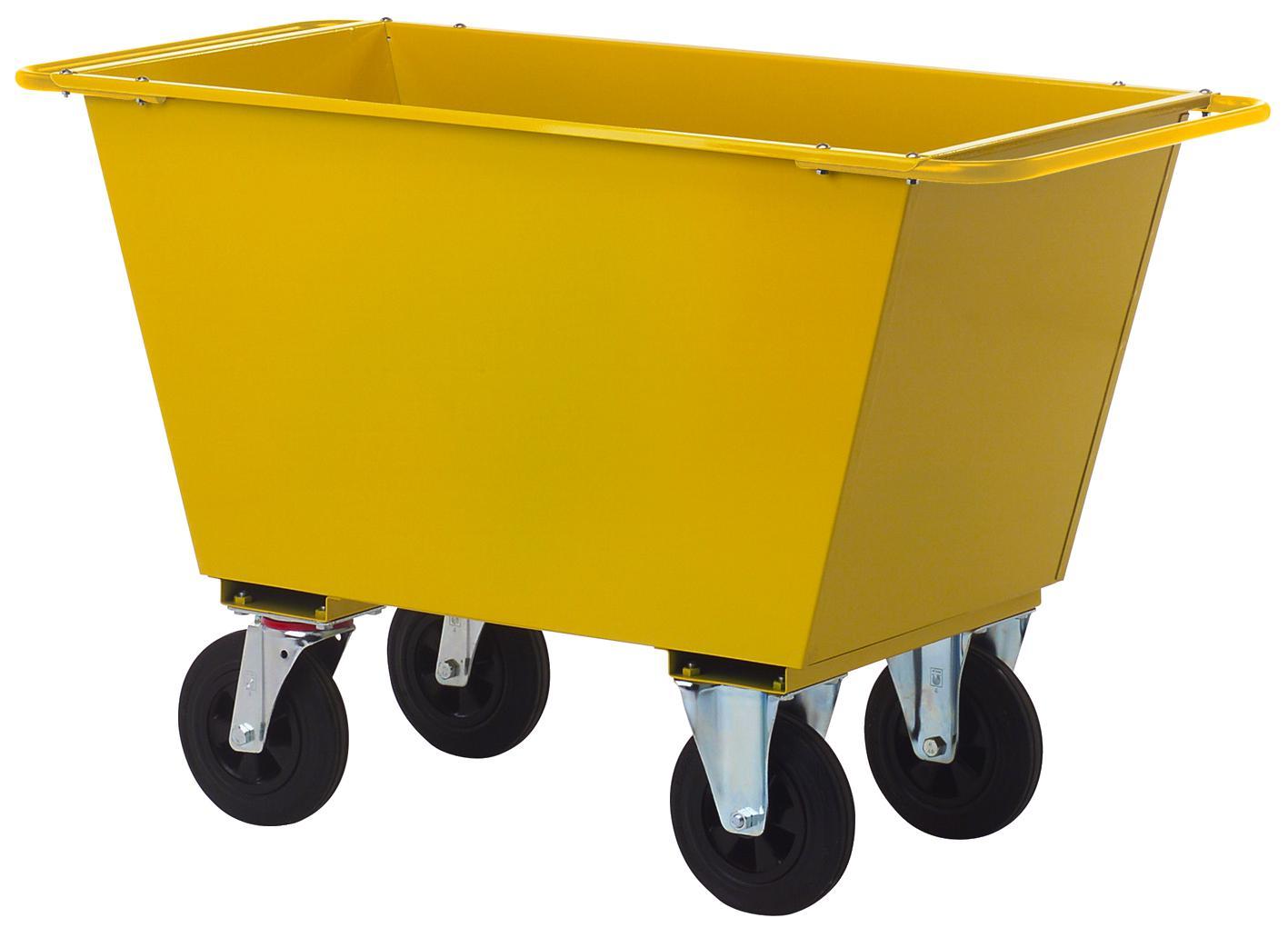 Image of   Affaldsvogn 200. 4 massivehjul