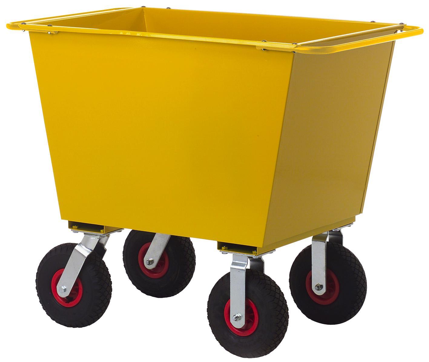 Image of   Affaldsvogn 200. 4 lufthjul