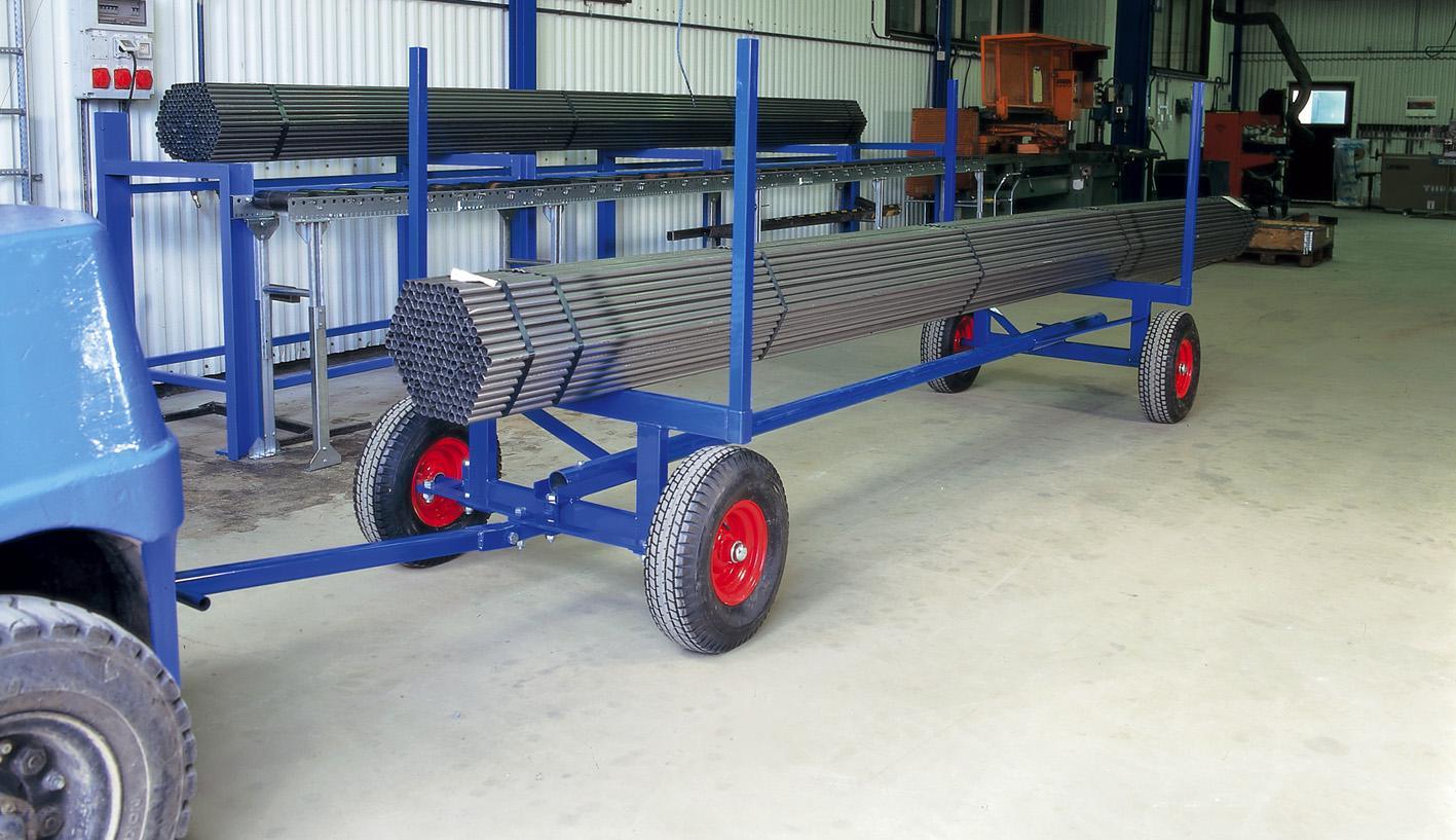 Llånggodsvagn 3,5t 4m