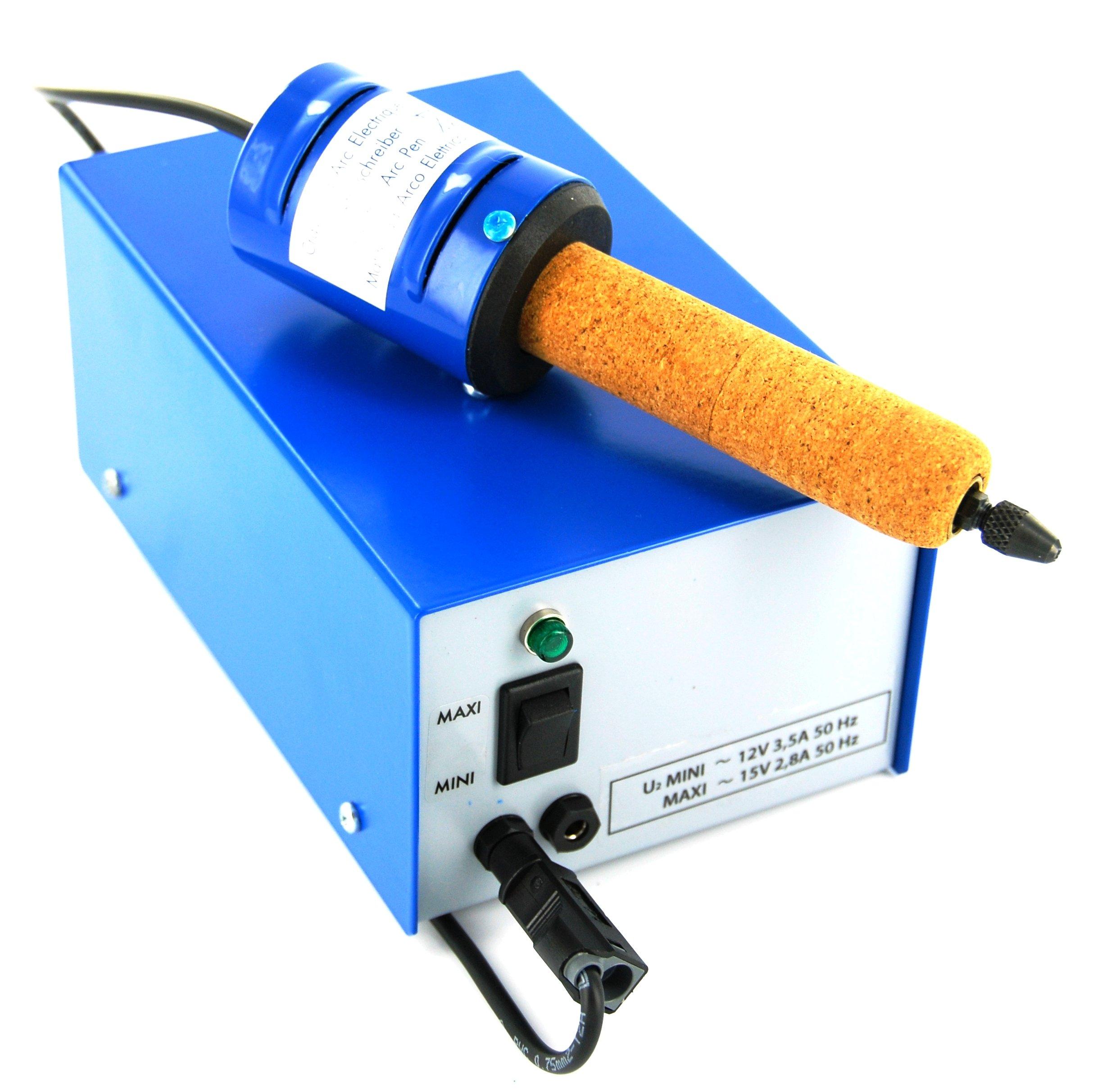 Gravørpen til elektroder, inkl. transformator