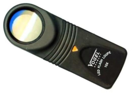 Image of   Lup Vogel med lys 10xdiameter