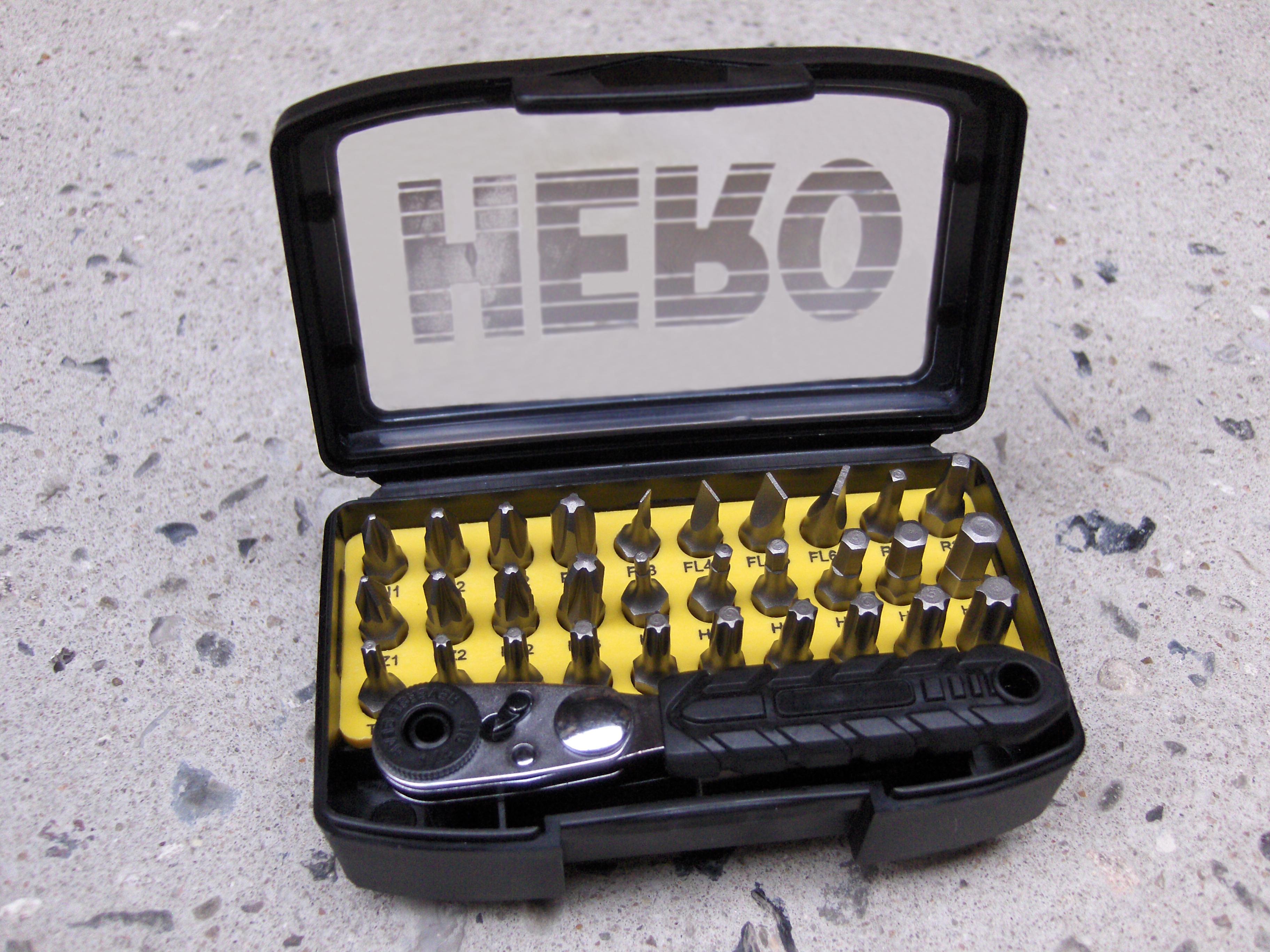 Image of   HERO Bitssæt 32 dele - m/skralde