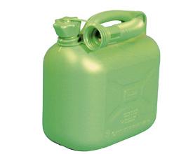 Benzindunk 5 liter - grøn