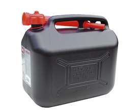 Benzindunk 10 liter - sort
