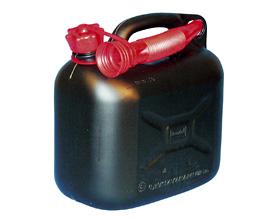 Benzindunk 20 liter - sort